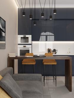 кухня-гостиная (ЖК Малиновый ручей-2)