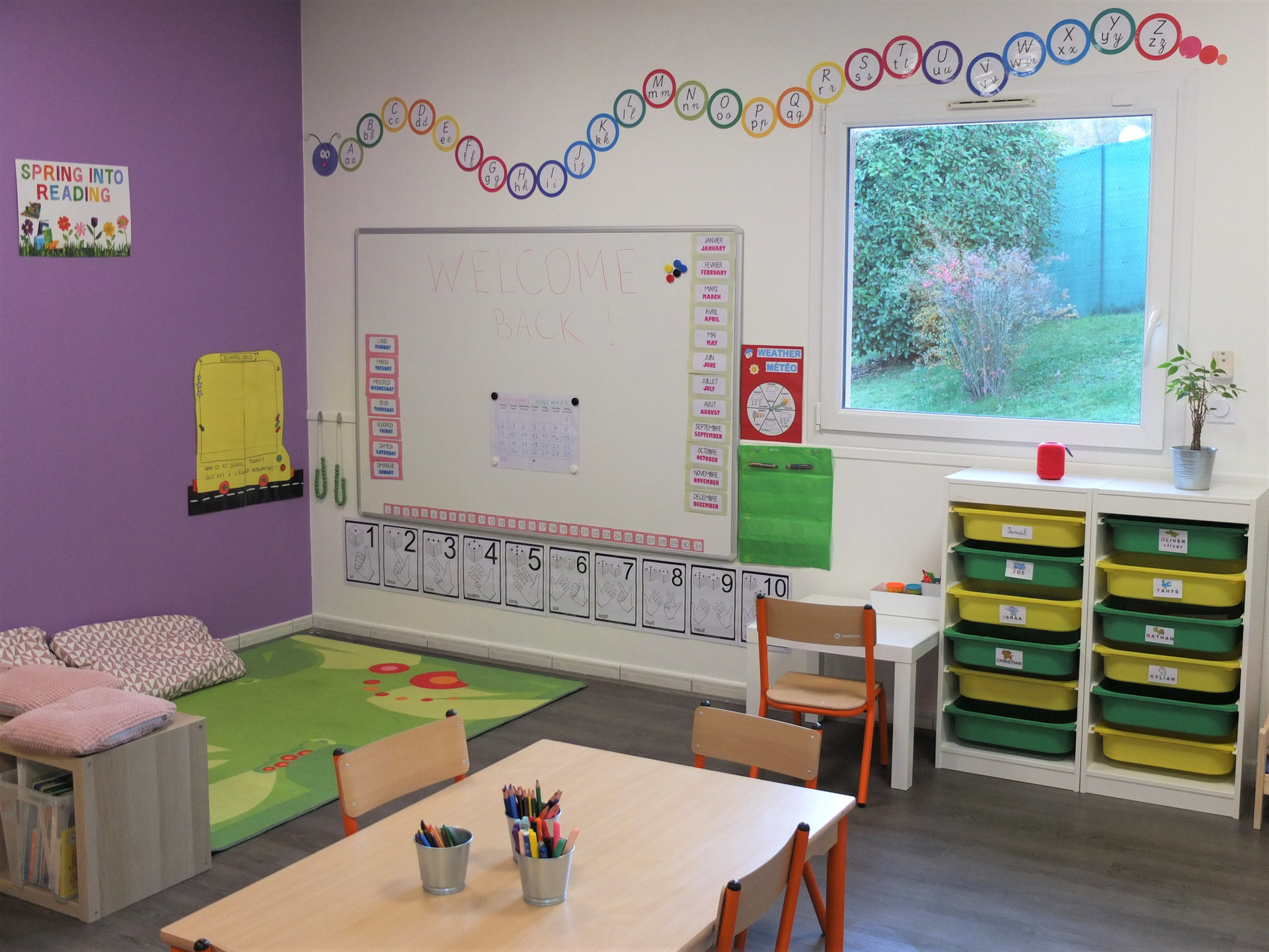 La classe maternelle