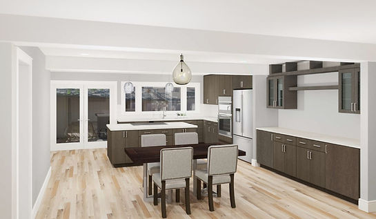 Kitchen/Dining Rendering