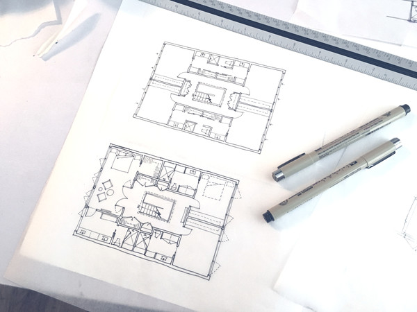Sketches of Modern Space Planning Project