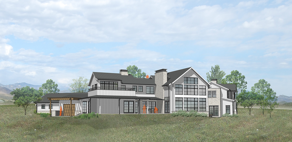 Rendering of Back of House