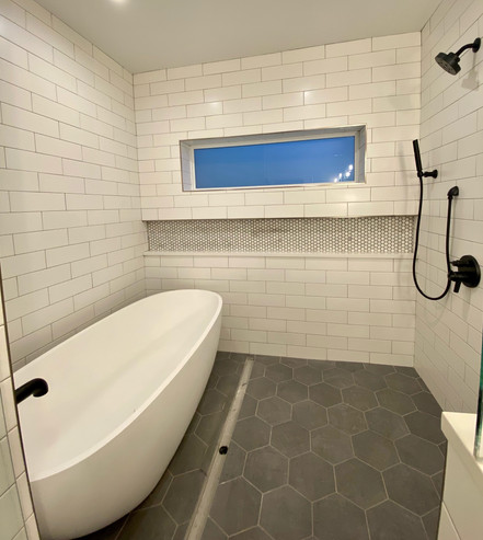 Final Tub and Shower Enclosure