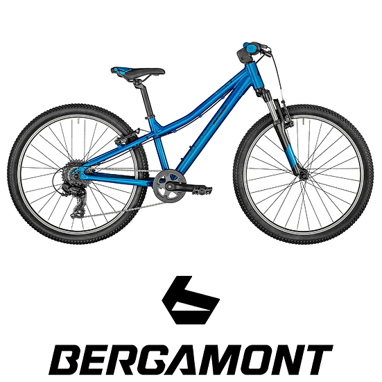 VTT junior semi-rigide BERGAMONT Revo 24 Boy