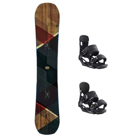 Pack HEAD Snowboard DAYMAKER WIDE + FIX NX ONE