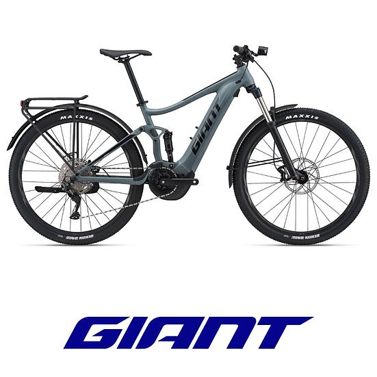 VTT électrique tout suspendu équipé GIANT Stance E+ EX 29er