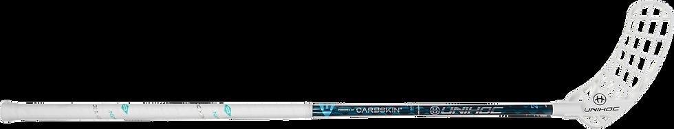 Canne UNIHOC Iconic Carbskin 26 Ice Turquoise