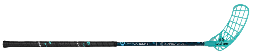 Canne UNIHOC Iconic Carbskin 29 Ice Turquoise