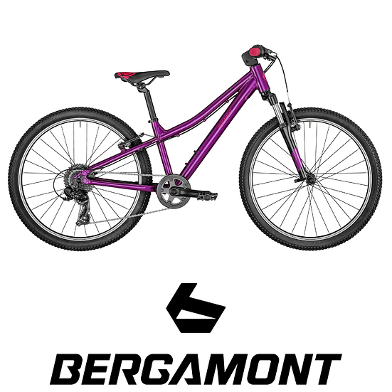 VTT junior semi-rigide BERGAMONT Revox 24 Girl