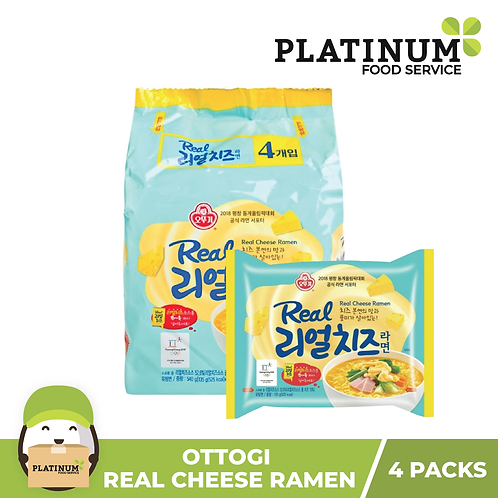 Real Cheese Ramen (pack of 4)