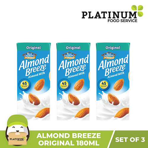 Almond Breeze Original (180mL x 3)
