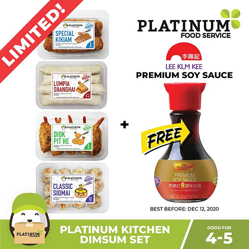 [SALE 16p OFF] Platinum Kitchen: Dimsum Set w/ FREE Heinz Ketchup