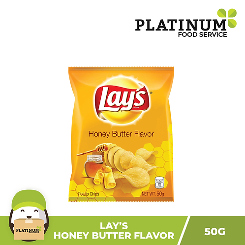 Lay's Honey Butter Chips 50g