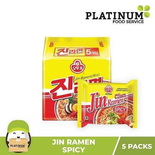 Jin Ramen - Hot (pack of 5)