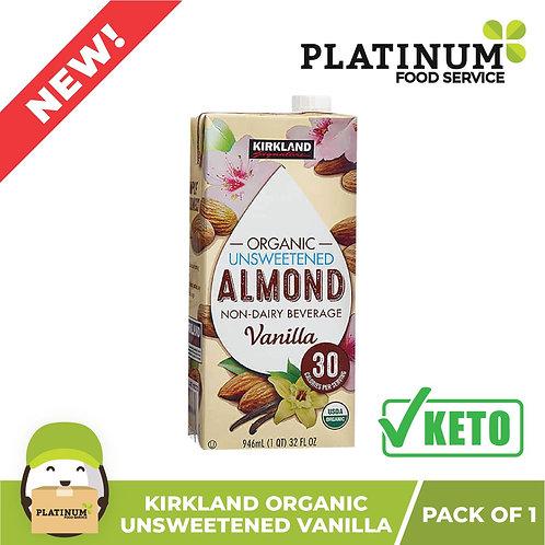 Kirkland Almond Milk Unsweetened Vanilla Flavor 946mL