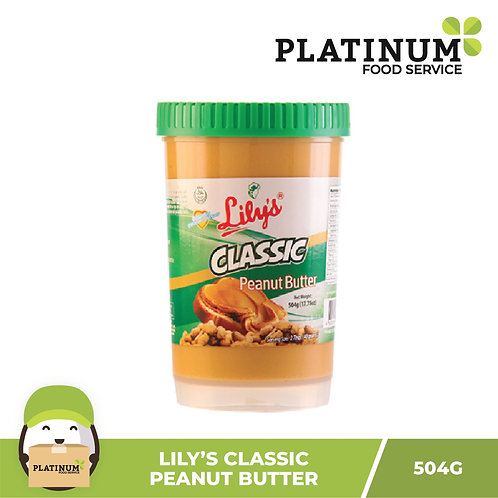 Lily's Classic Peanut Butter 504g