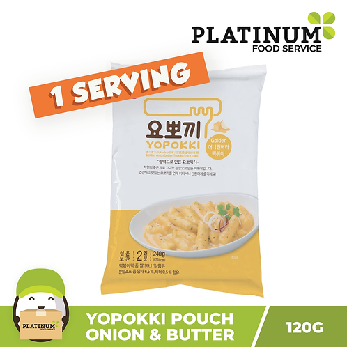 [SALE 50% OFF] Yopokki Onion & Butter Pouch 120g