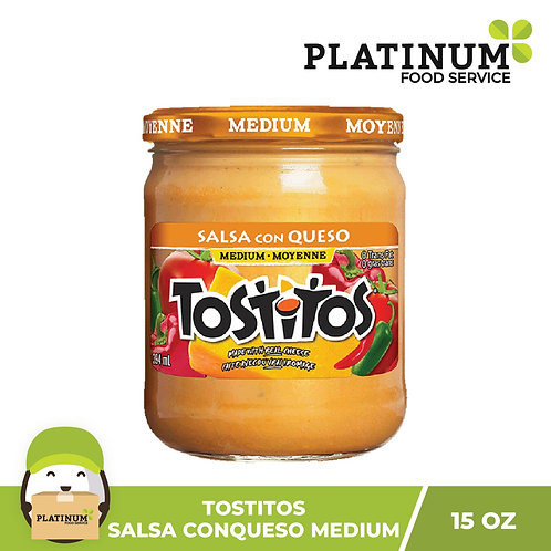 Tostitos Salsa Con Queso Medium 425g