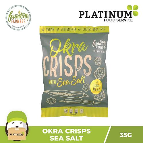 Founding Farmers Okra Crisps 35g