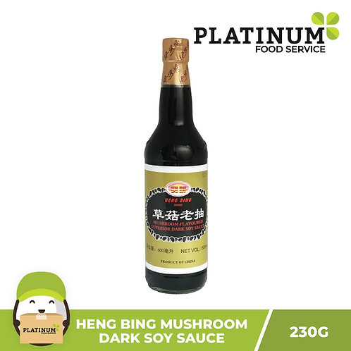 Heng Bing Mushroom Dark Soy Sauce 600mL
