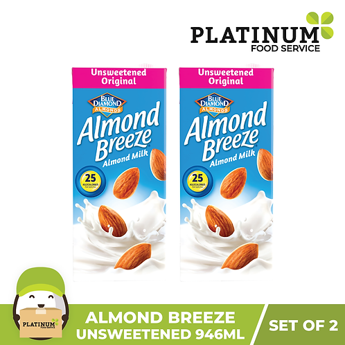 Almond Breeze Unsweetened Original (946 mL�x 2)