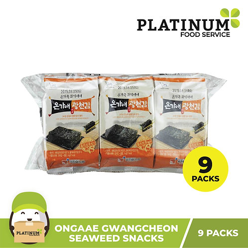Ongaae Gwangcheon Seasoned Seaweed (4g x 9)