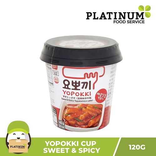 Yopokki Sweet & Spicy Cup 120g