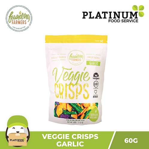Founding Farmers Veggie Crisps (Garlic) 60g