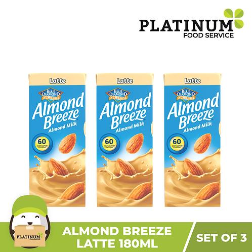 Almond Breeze Latte (180mL x 3)