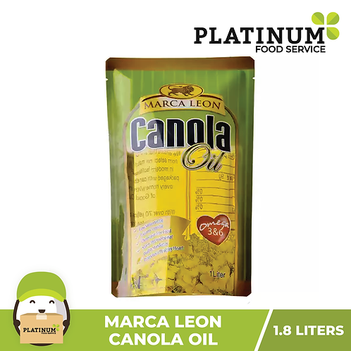 Marca Leon Canola Oil 1.8 Liters