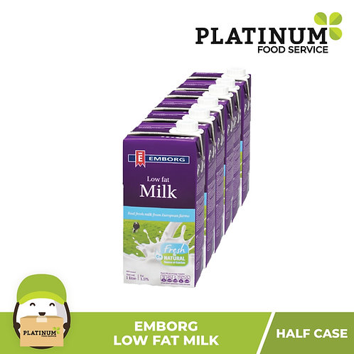Emborg LOW FAT Milk (Half Case)