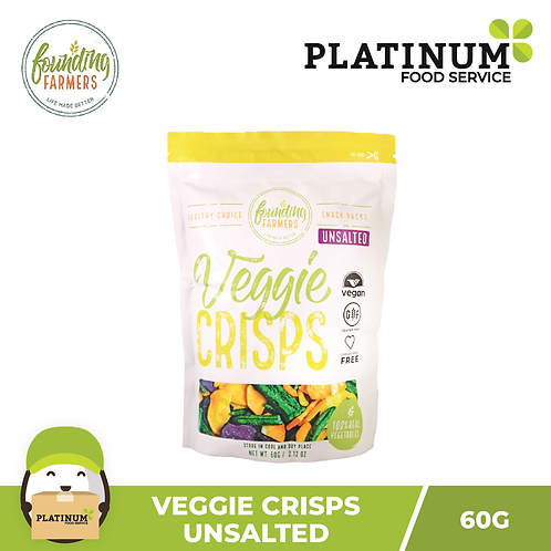 Founding Farmers Veggie Crisps (Unsalted) 60g