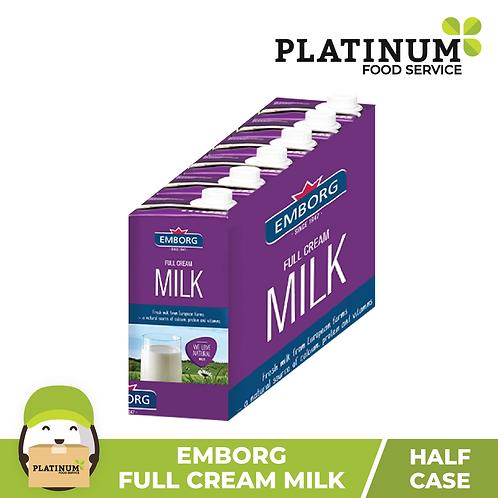 Emborg FULL CREAM Milk (Half Case)