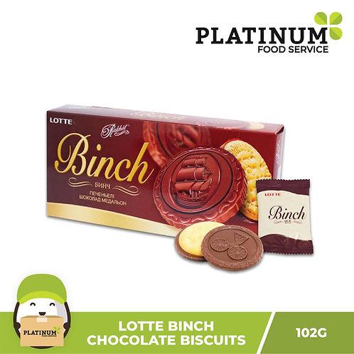 Lotte Binch Choco Biscuits 102g