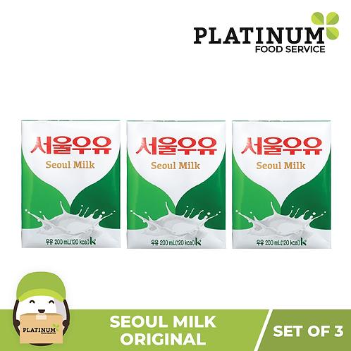 Seoul Milk - Original (pack of 3)