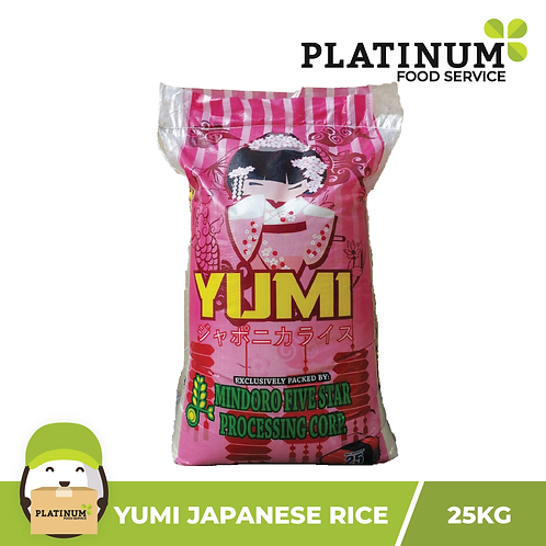 Yumi Japonica Rice 25kg