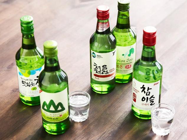 Korean Food Section