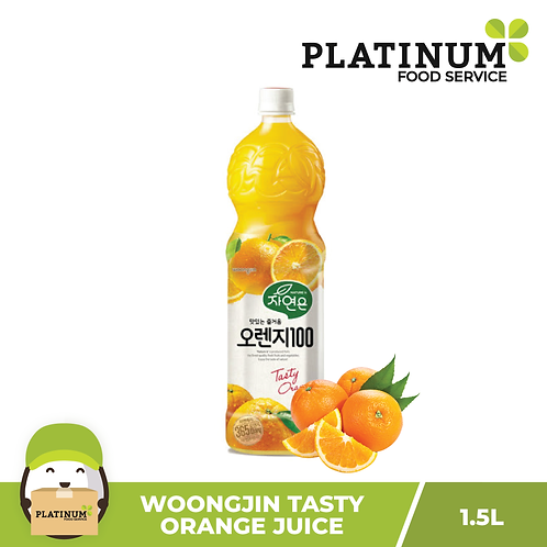 Woongjin Orange Juice Drink 1.5L