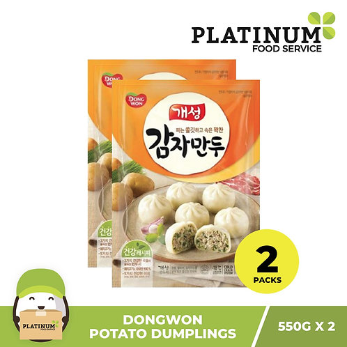 Dongwon Potato Mandu 550g x 2