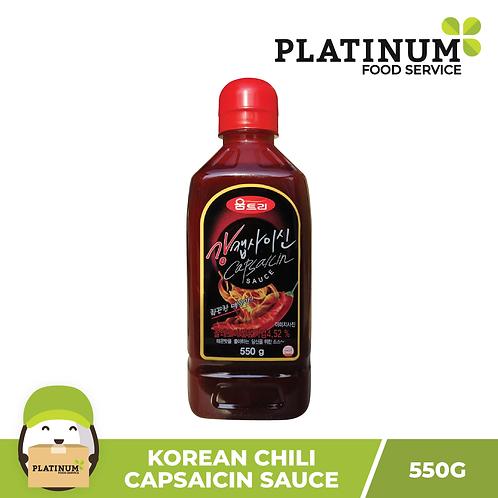 [SALE 50% OFF] Capsaicin Sauce 550g