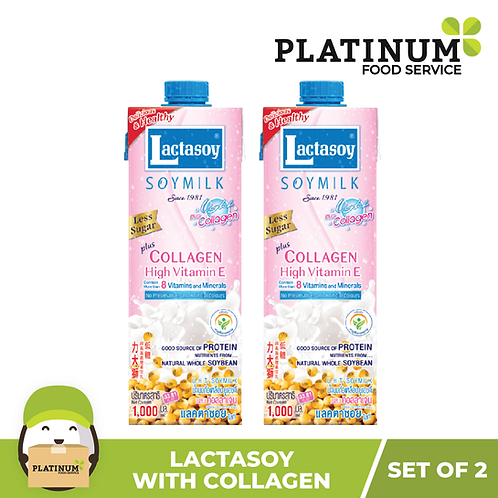Lactasoy Soymilk - Collagen (pack of 2)