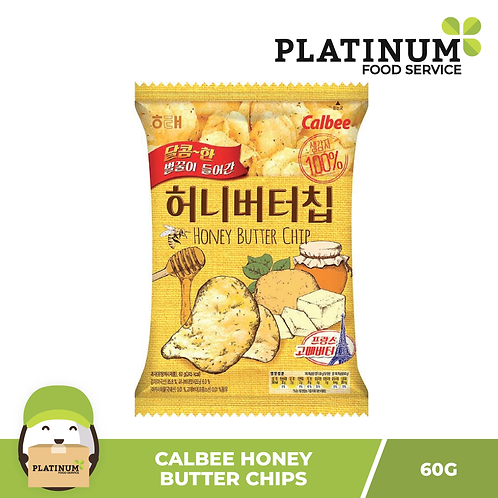 Calbee Honey Butter Chips 60g