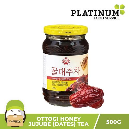 Ottogi Honey Jujube (Red Dates) Tea 500g