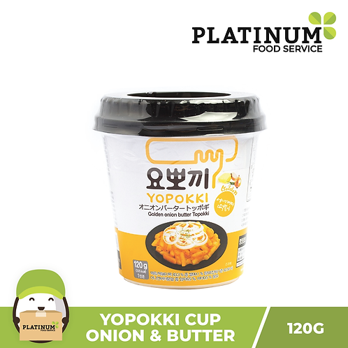 Yopokki Onion & Butter Cup 120g
