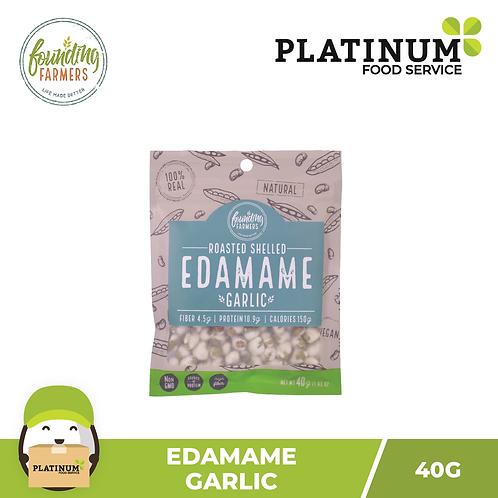 Founding Farmers Roasted Edamame (Garlic) 40g