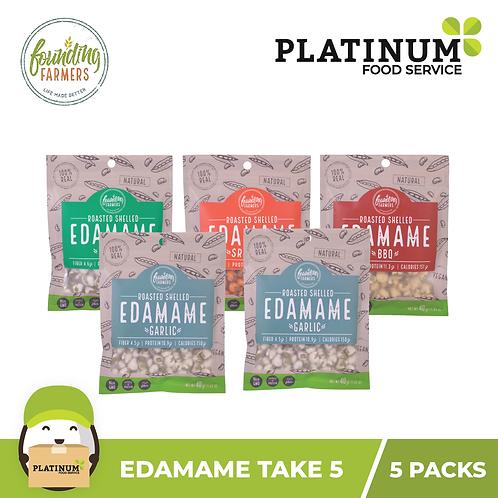 Founding Farmers Edamame Take 5