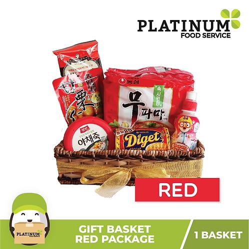 [GIFT BASKET 999] RED