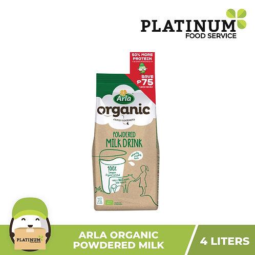 Arla Organic Powdered Milk 4L (533g)