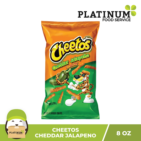Cheetos Cheddar Jalapeno Crunchy Chips 226.8g