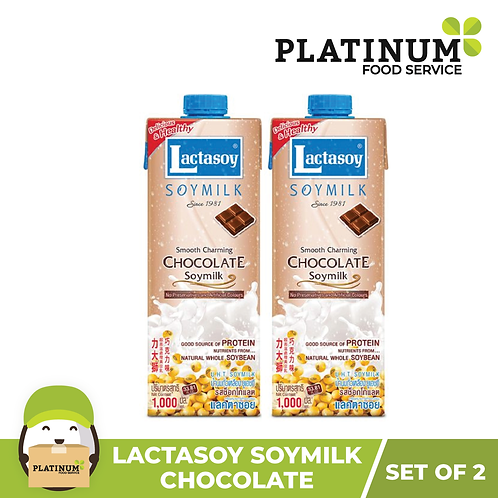 Lactasoy Soymilk - Chocolate (pack of 2)