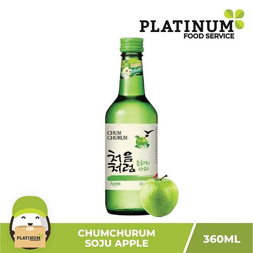Soju Chumchurum Apple Flavor 360mL